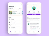 Punctuate reading companion app