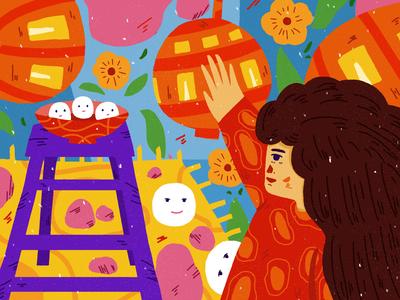 Doodle on Lantern Festival3