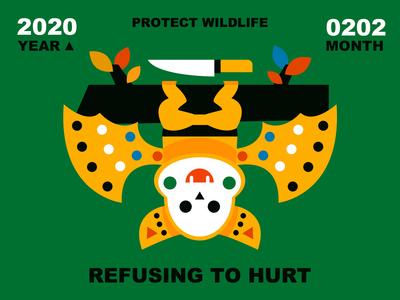 Refusing to hurt