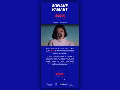 Sofiane Pamart   SEOUL x new single