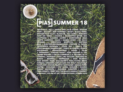 [PIAS] Summer 18