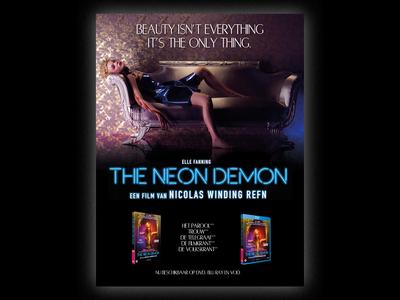 The Neon Demon x Twin Pics   Print Ad