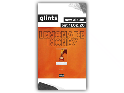 Glints x [PIAS]   Album Announcement Story