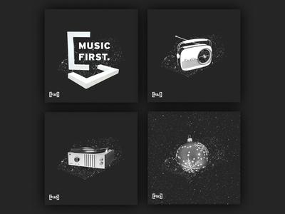 Spotify Thumbnails x [PIAS] Playlists