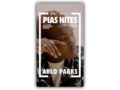 Arlo Parks x [PIAS NITES] at ESNS20