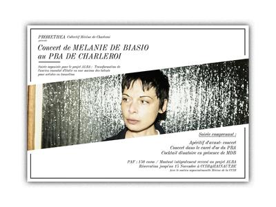 Melanie De Biasio x Alba Project Invite