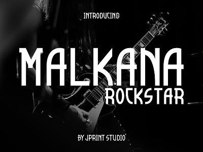 Malkana Font animation typography logo illustrator illustration font design font design branding