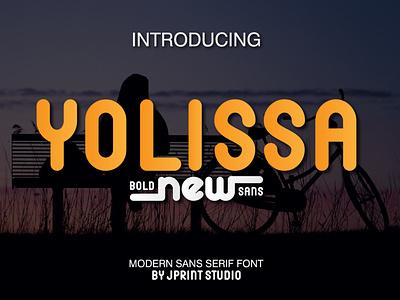Yolissa Sans Serif Font sanserif handwriting handlettering typography illustration font design font design branding