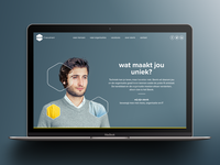 Sterrk IT-recruitment website