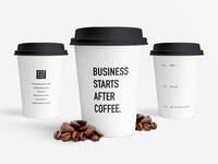 Endeavour Group coffee cups