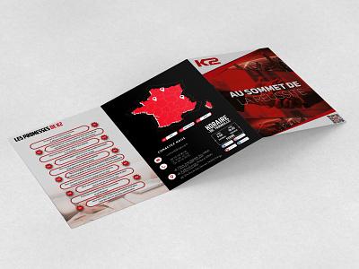 Plaquette commercial graphic design print brochure flyer plaquette