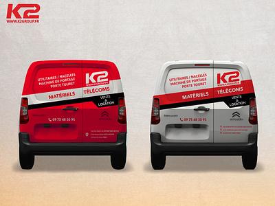 Habillage graphic design branding habillage