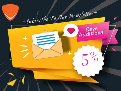 NewsLetter affiche design graphic design