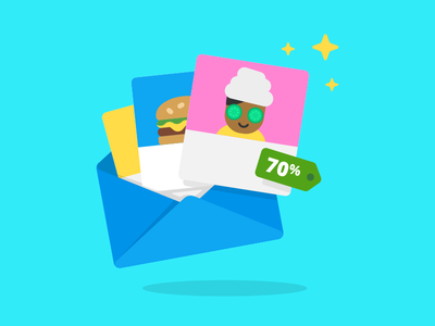 Subscription Concept Illustration groupon discount subscribe email illustration character