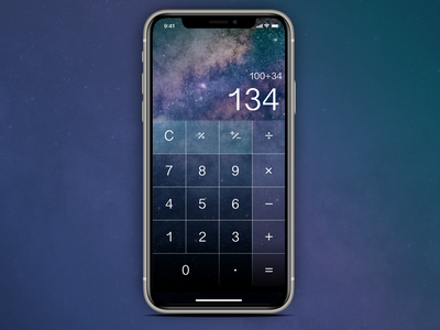 Daily UI :: 004   Calculator ui branding mobile mobile design mobile ui app ui design challenge ui design design