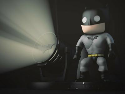 Batman Timer Funko Pop batman photoshop artwork artofvisual design character 3dmodel 3d cinema4d