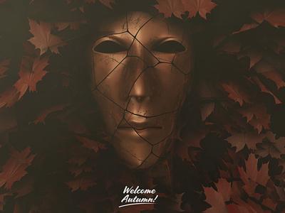 Welcome autumn artofvisual characterdesign artofvisuals 3dmodel photoshop design 3d cinema4d artwork