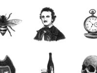 Poe Spot Illustrations