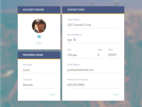 Daily UI :: 006 :: User Profile
