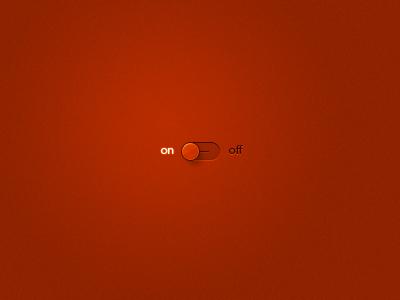 Lightonoff2 light switch button red orange