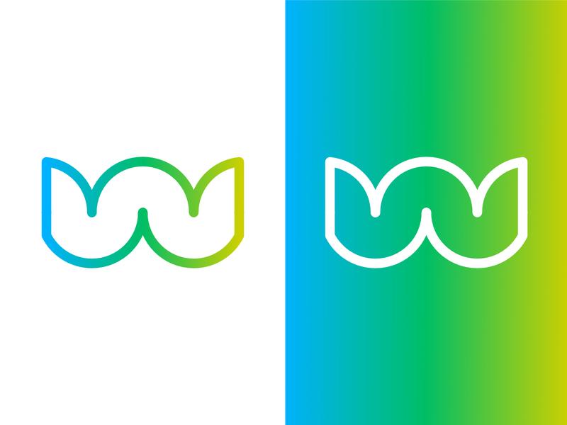 Daily Logo Challenge #4 : W Letter vector illustration affinity designer design logo logo design w letter logo w letter letter illustration vector