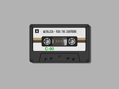 Cassette Tape illustration vector illustration vector art vector cassettes cassette player walkman music 90s 80s audio cassette cassette tape cassette