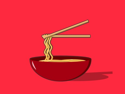 Noodles vector illustration vector illustration vector art food illustration chinese new year food chinese food noodles