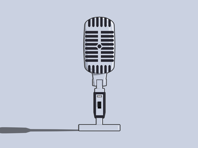 Microphone design vector illustrator vectors vector art vector illustration illustration vector microphone mic