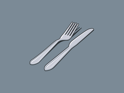 Cutlery kitchen flatware cutlery vector art design vector illustration illustration vector