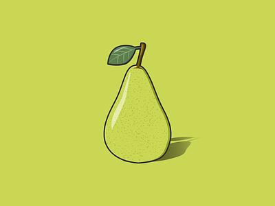 Pear fruits pear fruit vector art design vector illustration illustration vector