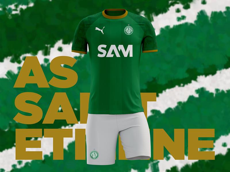 AS Saint-Étienne Home Kit Concept
