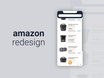 amazon redesign concept