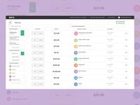 Bold Tax dashboard deduction expense app web ui tax product bold