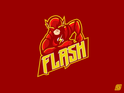 The Flash Mascot Design