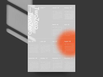 Obys AR Calendar graphic design typography calendar site ux website helvetica swiss black design minimal