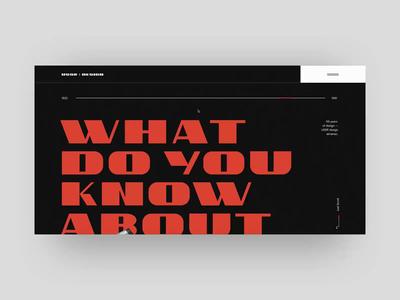 USSR Design Almanac web branding animation interaction swiss fashion longread minimal soviet typography ui website logo design