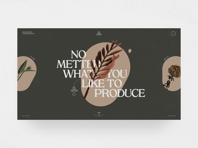 Be Like Nature graphic design minimal lifestyle wellness health mental flower