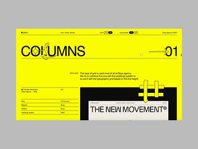 Grids Crazy Mode branding education promotional promo grid web swiss typography design minimal animation ui