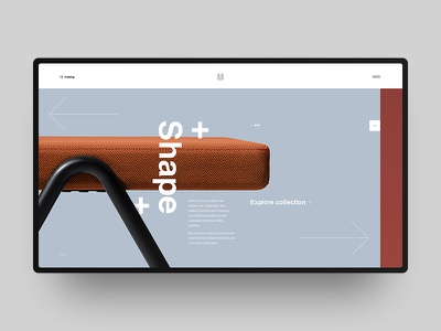 Mattiazzi Website Redesign black white grid swiss helvetica clean minimal design furniture