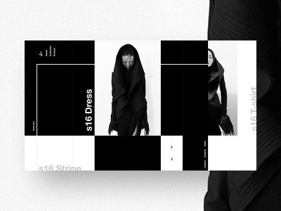 J~ Fashion Website white black grid japan helvetica swiss fashion