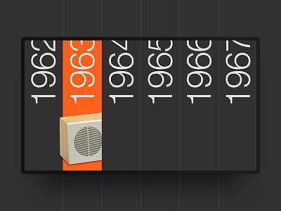 Dieter Rams Years Menu menu dieter rams black typography helvetica swiss design minimal