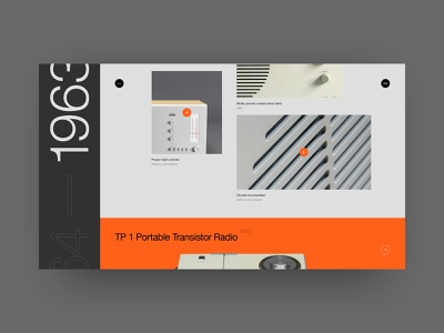 Product page (next product) black site rams dieterrams dieter rams fashion typography helvetica swiss design minimal