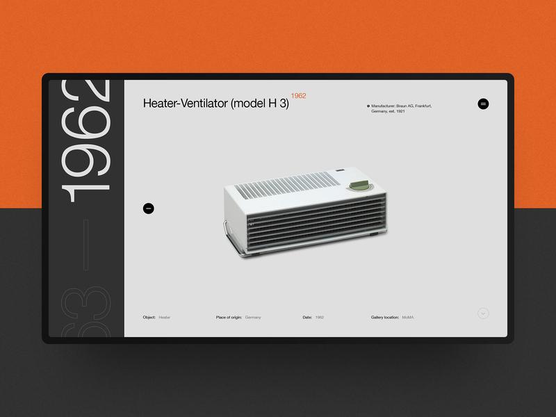 Dieter Rams' Design Heritage website interaction vector site ui typography rams dieter helvetica swiss black design minimal