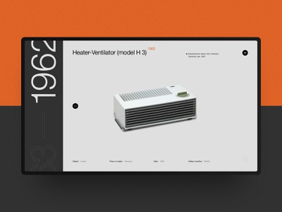Dieter Rams' Design Heritage website interaction vector site ui typography rams dieter helvetica swiss black design minimal