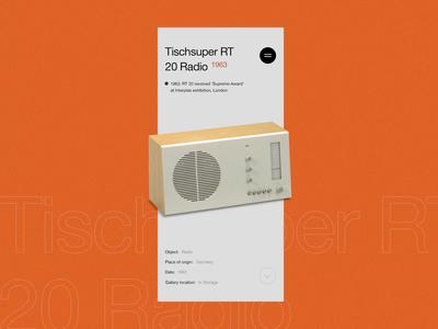 Dieter Rams' Design Heritage Mobile