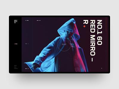 Niels Bach VD branding app online animation grid interaction ux website typography fashion web site ui video videographer swiss black design minimal