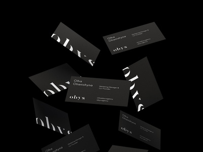 Obys Identity (Business cards)