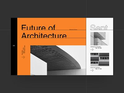 FoA website concept branding grid ui site web ux interaction furniture interior architecture website typography fashion helvetica swiss black design minimal