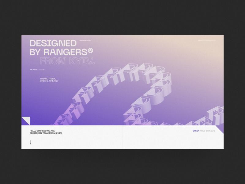 DR Design website ux interaction typography fashion ui web swiss minimal 3d art 3d