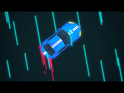 GT86 Drift animation car racecar drift illustration